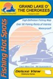 Grand Lake O the Cherokees Fishing Map (Oklahoma Fishing Map Series, A346)