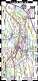 Streetwise Paris Metro Map - Laminated Paris Metro Map - Folding pocket and wallet size metro map for travel