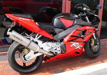 Fireblade with Hindle Exhaust