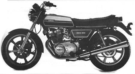 Yamaha XS500C of 1976