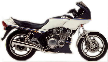 Yamaha Xj900n 1986 Specifications