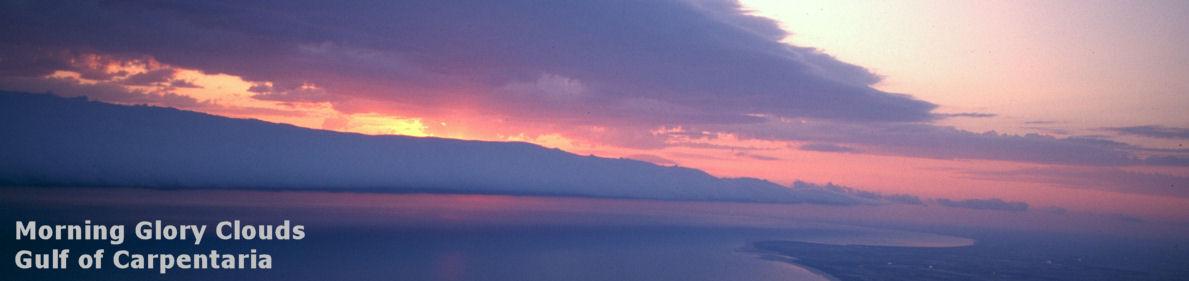 Morning Glory Clouds in the Gulf of Carpentaria