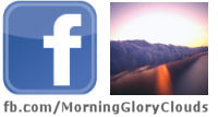 Morning Glory Clouds on Facebook