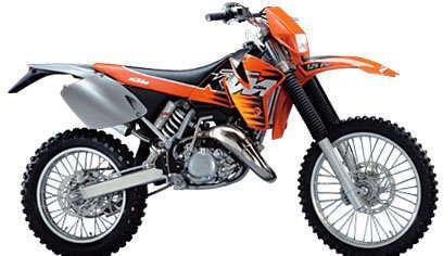 ktm exc125 1999