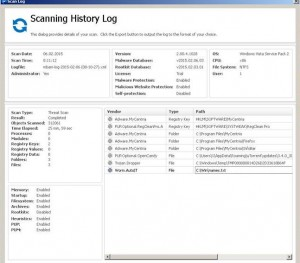 Malware Virus Scan Report